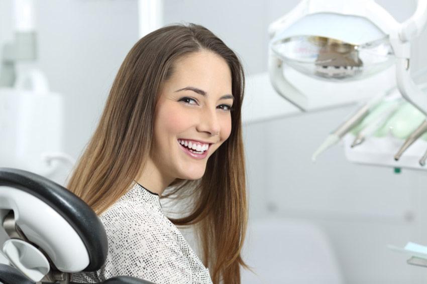 sorriso donna post intervento